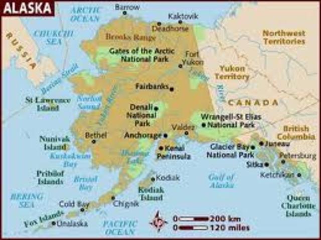 Alaska joins the Union