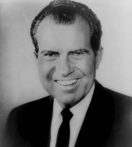 Richard Nixon is elected President