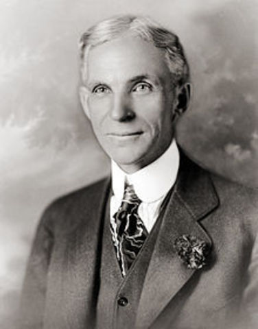 Henry Ford Closes His Factories