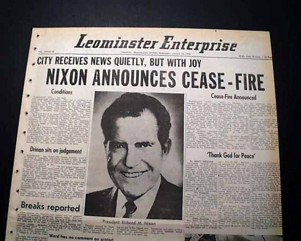Vietnam Cease fire