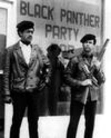 The Black Panther Party emerges
