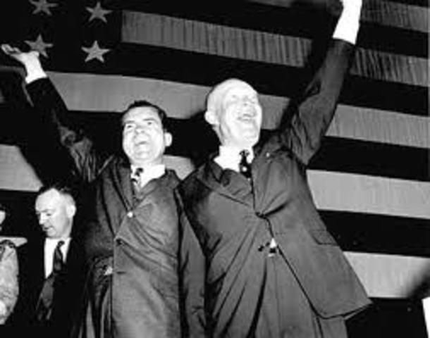 Dwight Eisenhower Elected President