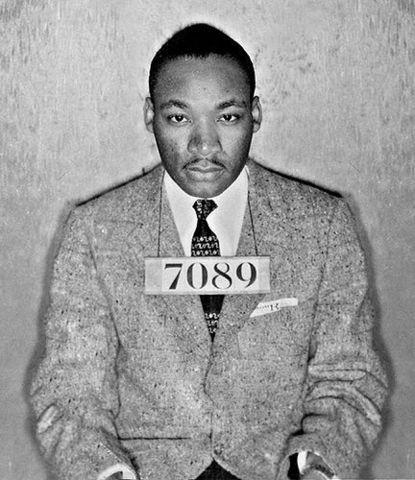 Martin Luther King Jr's Arrest