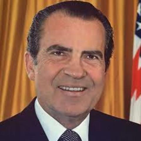 Nixon Approves Welfare Programs