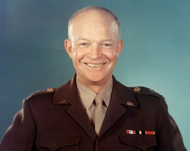 Eisenhower re-elected