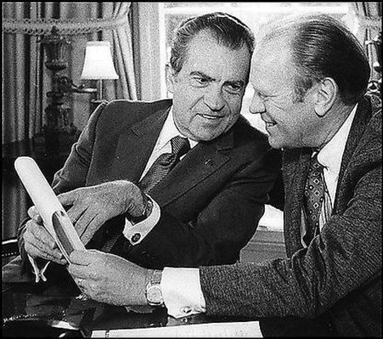 Pardoning of Nixon