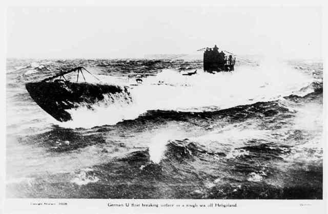 Germany begins naval blockade of Britain