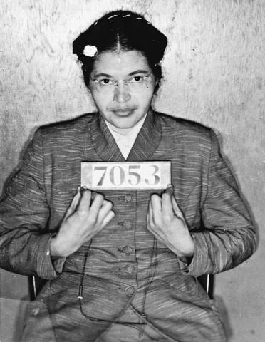 Rosa Parks Arrested