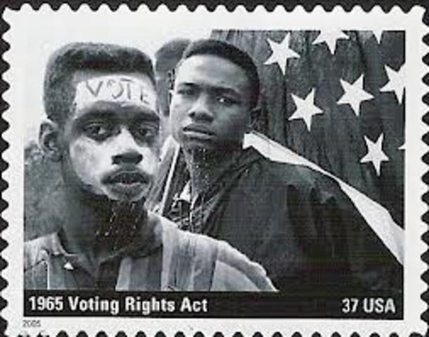 March on Selma and Passage of Voting Rights Act of 1965