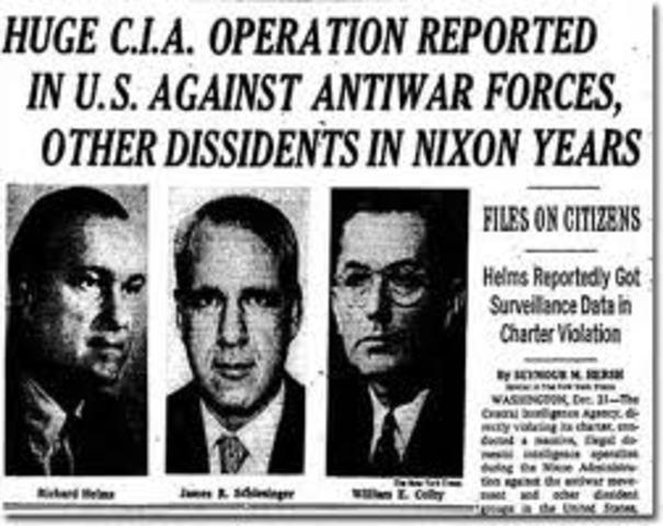 Investigation of the CIA