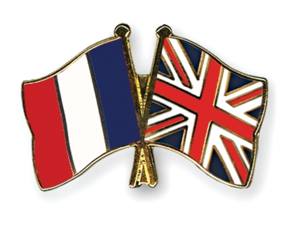 France and Britian go to war