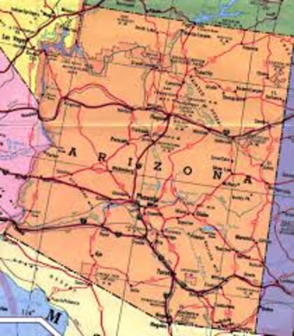Arizona became a State