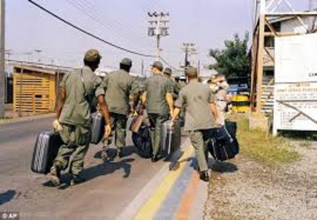 US Troops Leave Vietnam