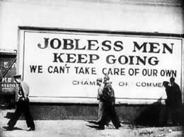 The Begining of the Great Depression