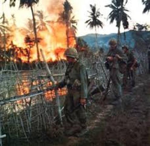 Troops Sent to Vietnam