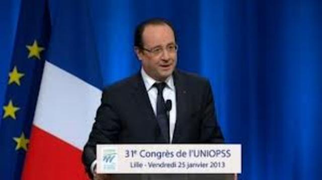 """Message de François Hollande lors du 31è congrès de l'UNIOPSS """"La réforme de la dépendance sera finalisée avant la fin 2013""""."""