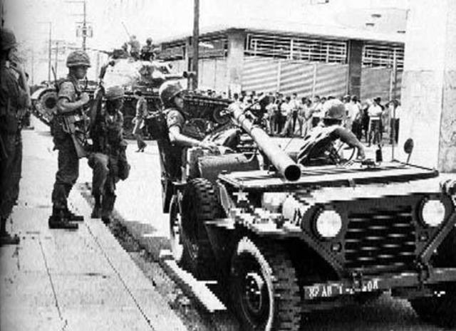 Troops in Dominican Republic