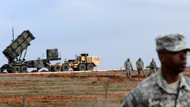 U.S. Drills with Interceptors in California