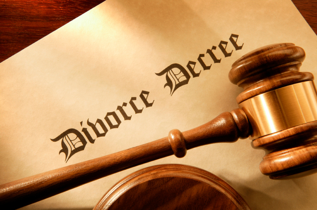 Gould divorces his first wife