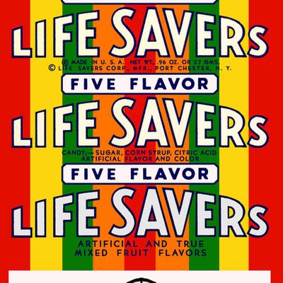 Life Savers timeline