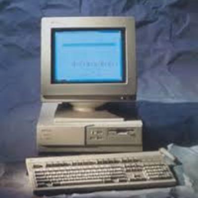 hitoria de la computadora timeline
