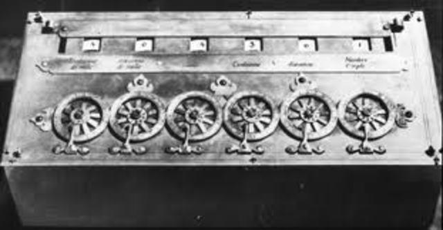 sumadora mecanica