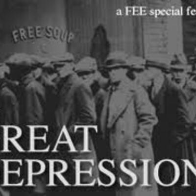 The Great Depression. timeline