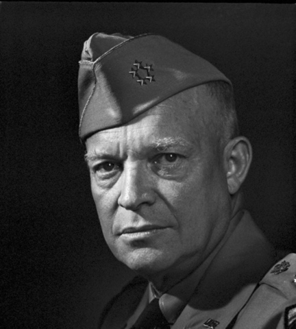 """Dwight Eisenhower and his administration of """"dynamic conservatism."""""""