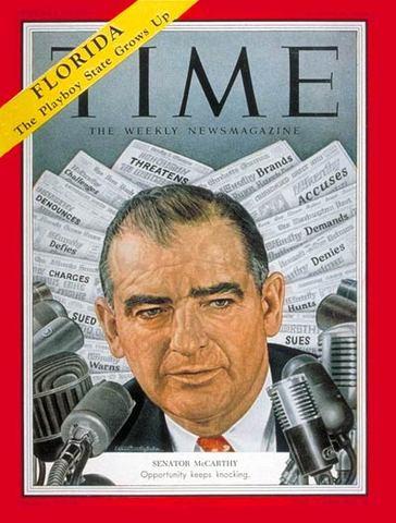 McCarthy Is Comdemned By U.S Senate