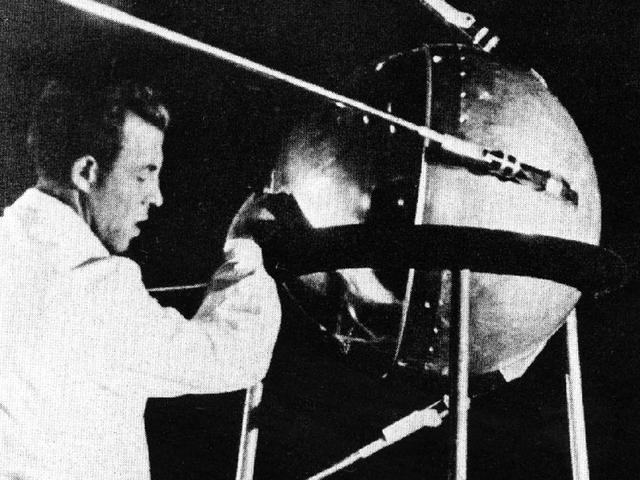 Soviet Union Successfully Launches Sputnik Into Space