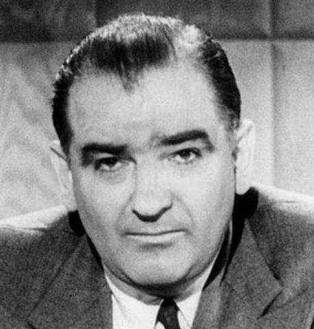 McCarthy Sparks the Second Red Scare