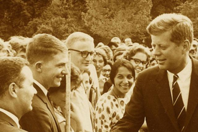 Kennedy's Peace Corps.