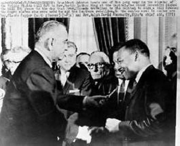 Voting Rights Act of 1965 enacted