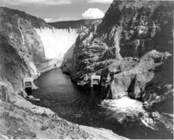 Boulder Dam project begins