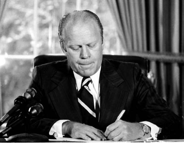 The Outrage of Nixon's Pardon