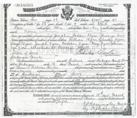 The Naturalization Law of 1802