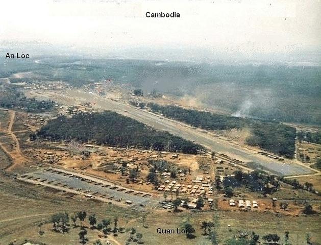 Nixon Orders Troops into Cambodia