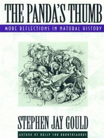 Gould receives awards for his book, The Panda's Thumb
