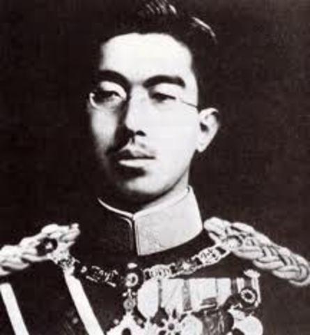 Hirohoto becomes emporer of Japan
