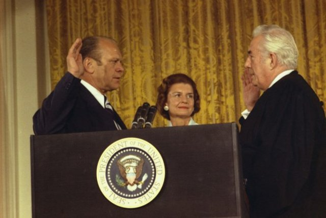 Gerald Ford Assumes The Presidency