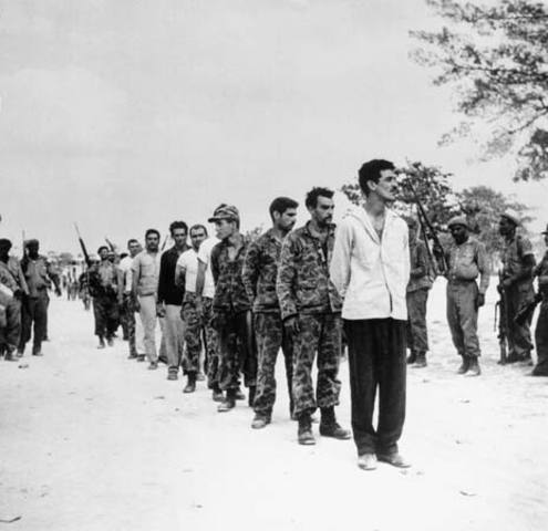 Bay of Pigs Invasion Takes Place