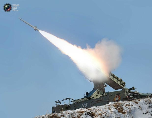 Un Tests Flak Rockets