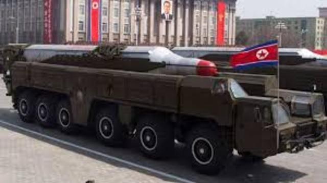 Musudan Missile Raised