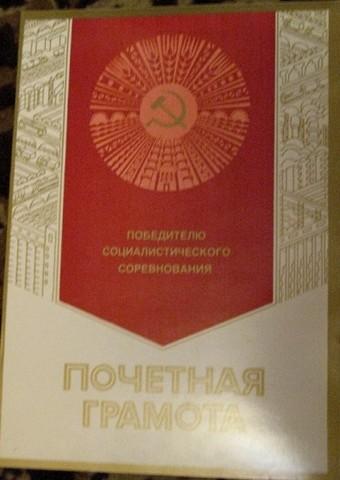 Достижения коллектива 1981 год