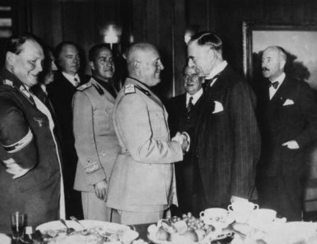 Conferencia de Munich (29.9.1938)