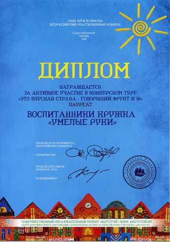 Достижения воспитанников 2012 год