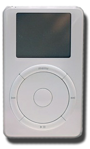 Apple launches the iPod