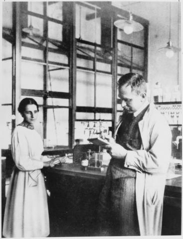Otto Hahn, Lise Meitner