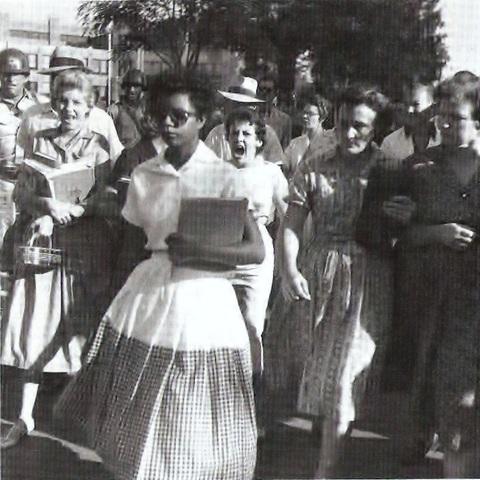 Little Rock Nine's First Day of School