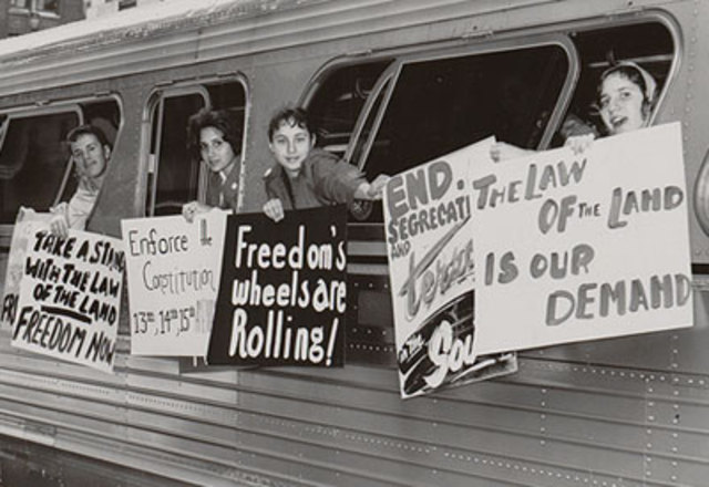 Freedom Riders Take Action